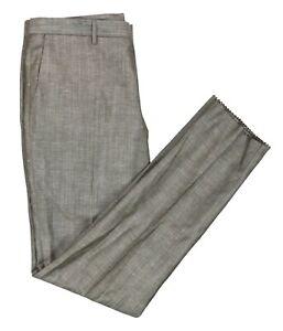 Hugo Boss Black Label Wool/Linen Men's Dress Pants 34R NWT Pastel Brown