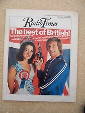 Radio Times/1975/Colin Bell/Miss World/Alan Plater /Trinity Tales/Bill Maynard/