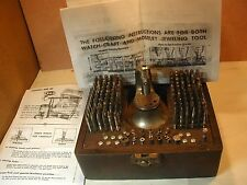 Antique ~ 142pcs~ Germany Watch Staking tool ~Enlarge Photo for Detail #NTS 2