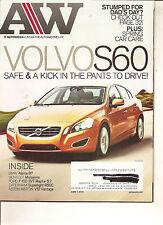 Autoweek Jun 7, 2010 - Volvo S60 - BMW Alpina B7 - Ford F150 SVT Raptor 6.2
