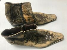 HAIR - 2009 BROADWAY REVIVAL - COSTUME BOOTS WORN BY ATO BLANKSON-WOOD