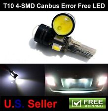 2Pcs T10 T15 168 921 3W 4SMD 5050 LED Canbus Backup Reverse Interior Light Bulb