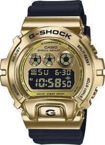 -NEW- Casio G-Shock 25th Anniversary Gold / Black Watch GM6900G-9