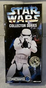 "NEW Star Wars Collectors Series 12"" STORMTROOPER! 1996 Kenner Sealed"