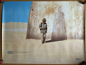 Star Wars Episode 1 - Original Cult UK Cinema Quad Poster - The Phantom Menace