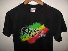 Reggae Fest Tee - University of California Irvine 2008 Concert Rasta T Shirt Sm