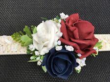 Mariage Collier DE CHIEN accessoire, Fleur Corsage, chien d'honneur, photo Prop