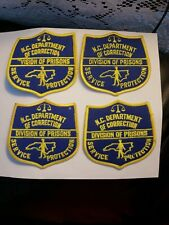 😎 North Carolina Department of Correction Patch  Division Of Prisons lot of 4
