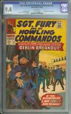 SGT FURY AND HIS HOWLING COMMANDOS #35 CGC 9.4 WHITE PAGES