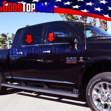 For Dodge RAM CREW+MEGA CAB 2500 3500 2010-2016 2017 4PC Window Sill STEEL Cover
