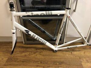 Cinelli columbus xperience lightweight road bike / racer alloy frame 1.9kg