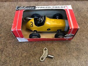 Schuco 1041 Micro Racer In Original Box W/Original Key!!