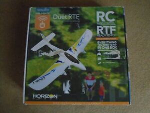 Radio Controlled model plane, HobbyZone Duet - ready to fly, in VGC.