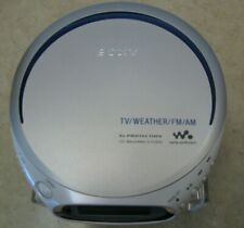 SONY WALKMAND-FJ210 PERSONAL CD PLAYER AND AM/FM RADIO