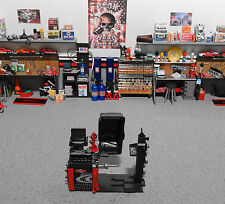 """""""TOY"""" 1:18 GMP Parts Tool ( Tire Balancing Machine Only ) Red for Garage Diorama"""