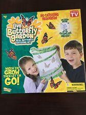 Insect Lore Original Butterfly Garden Voucher Caterpillar Butterfly Growing Kit