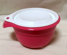 BNIP TUPPERWARE Bake 2 Basics Mini Mixing Bowl PINK