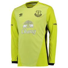 Camisetas de fútbol de manga corta amarillo Umbro