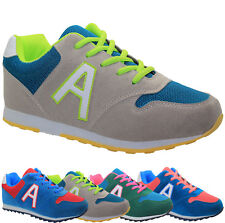 WOMENS LADIES RUNNING TRAINERS CASUAL LIGHTWEIGHT FITNESS GYM SPORTS SHOES SIZE