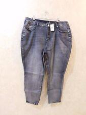 1a3b40d0e1f Ashley Stewart Black Jeans Sky High Ankle Women s Plus Size 22 R R6b3