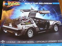 EAGLEMOSS BACK TO THE FUTURE DELOREAN DMC ISSUE 126 1:8 SCALE BUILD YOUR OWN