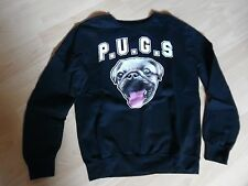 Sweat-Shirt schwarz Gr. M Divided P.U.G.G. -Hoodie-