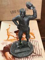 LOU GEHRIG Pewter Figurine Statue 1979 Metallic Creations Signature Miniature