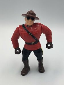 WWF Hasbro The Mountie Wrestling Action Figure 1993 Series 5 Vintage WWE Canada
