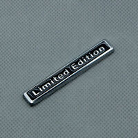 Black Metal Chrome LIMITED EDITION 3D Sport Emblem Car Rear Trunk Badge Sticker