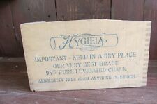 Vintage Old School House Wooden Chalk Box with Dove Tail Joining
