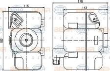 Vaschetta Espansione Radiatore Acqua Volvo XC90 2.5 D5 AWD Benzina Diesel