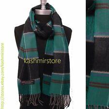 New LONG CASHMERE SCARF Tartan Nova Check Plaid Scotland Soft Warm Wool #N02