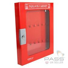Lockout Tagout Padlock Cabinet With Clear Fascia - 42 Locks
