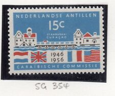 Dutch Antillen 1957 Early Issue Fine Mint Hinged 15c. 167271
