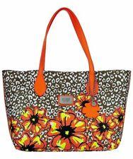 GUESS Ivian Leopard Medium Tote Damen Women Tasche Bag Blumen Sommer Multicolor