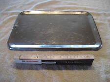 Edelstahl Verkaufsschale Schale Gastro Tablett ca 35 x 24 x 1cm Servierplatte 49