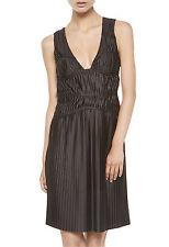 "NWT La Perla $678 Slinky Stretch Pleat ""Thar"" Dress sz 10 Medium Built in Panty"