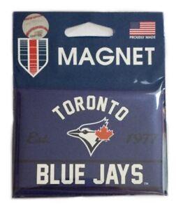 "Toronto Blue Jays MLB Baseball Team Logo 2.5"" x 3.5"" Kitchen Home Fridge Magnet"