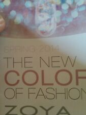 Zoya Color Chart Book for 2014 Spring over 300 Nail Polish Colors SHIPS Today