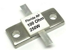 250W 100, Ohm RF resistor two used in parallel makes 50 ohm 500w load