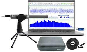RTA-168C: PC Real Time Audio Spectrum Analyzer,Sound Level Meter,Polarity Tester