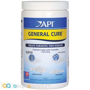 API General Cure 850 gram Jar Powdered Medication for Freshwater and Marine Fish