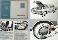 Mercedes Benz 350SL 350SLC 450SL 450SLC Original 1973 Betriebsanleitung R107