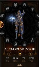 Diablo 3 Ps4 Legit Demon Hunter Marauders/Cluster Arrow/Sentry/Cold Damage Build