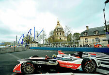 Bruno SENNA SIGNED 12x8 Portrait Photo AFTAL COA Autograph Formula E Driver