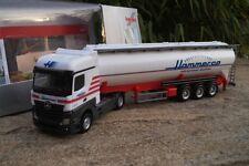 "Herpa  Mercedes-Benz Actros BigSpace Silo-Sattelzug ""Hammer Aachen"" 927543  1:87"
