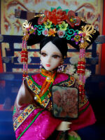 1/6 Scale Chinese Qing dynasty Doll KURHN Traditional Costume Handmade Outfits