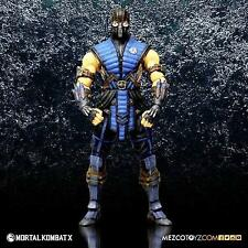 "SUB ZERO the Icy Assassin Mortal Kombat X 6"" Collectible Action Figure New Mezco"