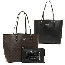 COACH F36658 Signature REVERSIBLE CITY TOTE