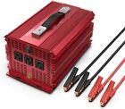 BESTEK 2000W/4600 Watt Power Inverter 12V DC to 110V AC Adapter Charger Car
